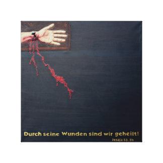 DIE KRAFT DES BLUTES JESU LEINWANDDRUCK