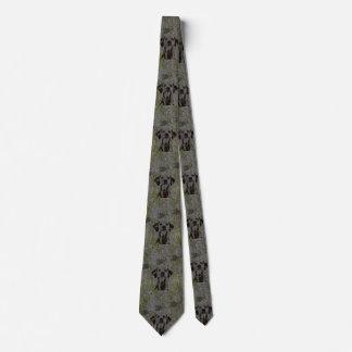 Die Krawatte der Enten-Jäger-Männer