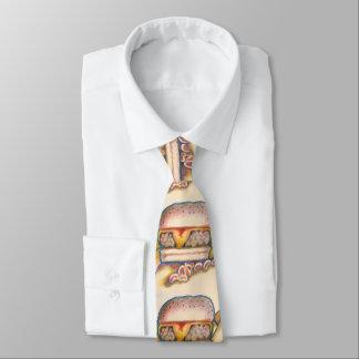 die Krawatte der Hamburgermänner