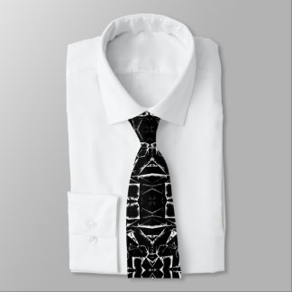 Die Krawatte der schwarzen