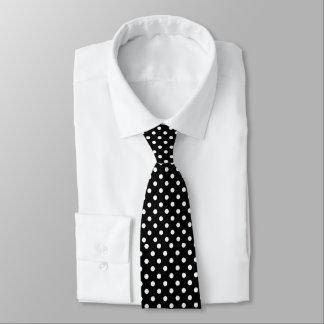 Die Krawatte der Schwarzweiss-Männer