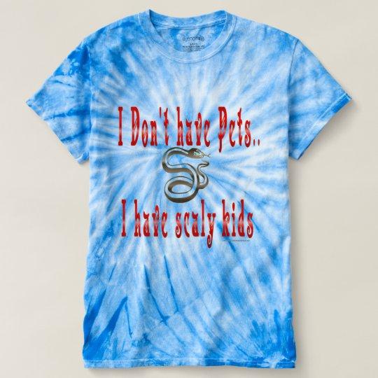 Die Krawatten-T - Shirt der schuppigen