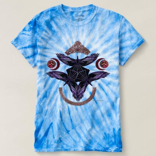 Die Krawatten-T - Shirt der Stammes- Krähen-Männer