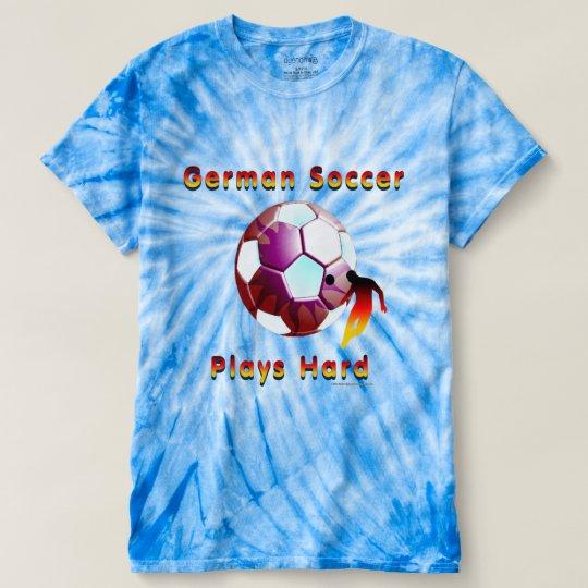 Die Krawatten-T - Shirt deutscher Fußball Sunball