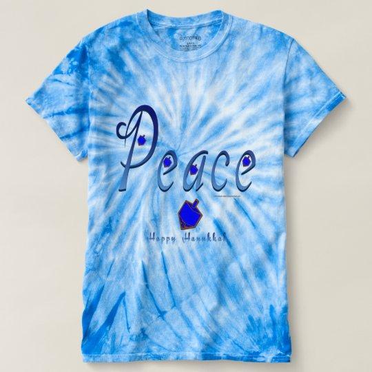 Die Krawatten-T - Shirt Friedenschanukka-Männer