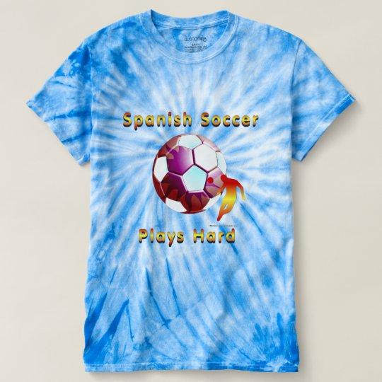 Die Krawatten-T - Shirt Spanien-Fußball Sunball
