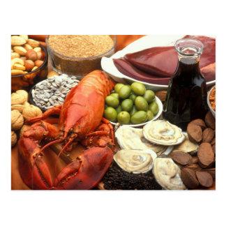 Die kulinarischen Künste Postkarte