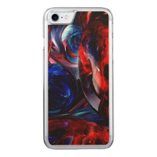 Die Kunst der Geräusche abstrakt Carved iPhone 8/7 Hülle