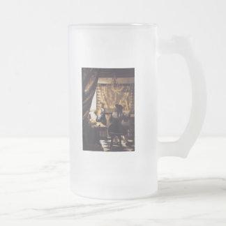 Die Kunst der Malerei Mattglas Bierglas