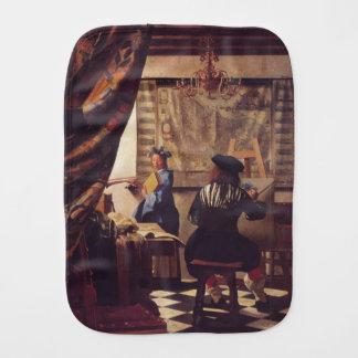 Die Kunst der Malerei von Johannes Vermeer Spucktuch