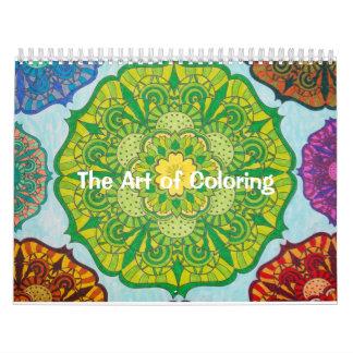 Die Kunst des Farbton-Kalenders Kalender