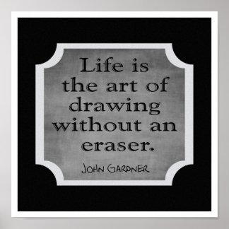 Die Kunst des Lebens --- Kunst-Druck Poster