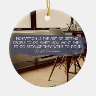 Die Kunst des Veranlassens der Leute zu tun Keramik Ornament