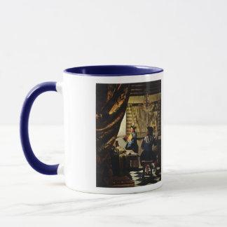 Die Kunst Johannes Vermeers der Malerei circa 1668 Tasse