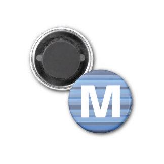 Die Kunst-Magnet der blaue Runder Magnet 2,5 Cm