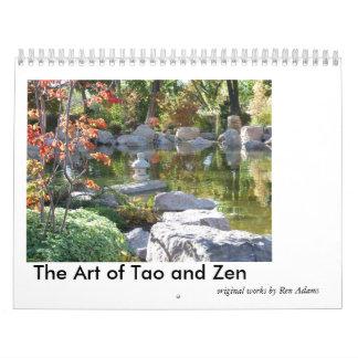 Die Kunst von Tao- und Zen-Kalender Kalender