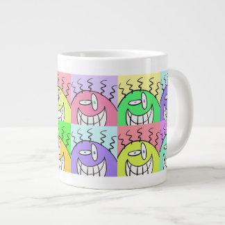Die lächelnden Typen Jumbo-Tasse