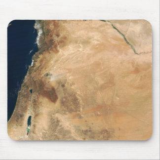 Die Länder von Israel entlang dem Ostufer Mousepads