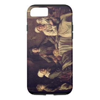 Die ländliche Familie, 1642 (Öl auf Leinwand) iPhone 8/7 Hülle