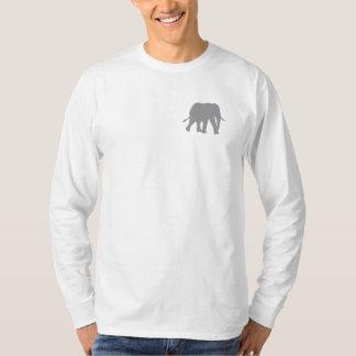 Die lange Hülse der Männer retten die Elefanten T-Shirt