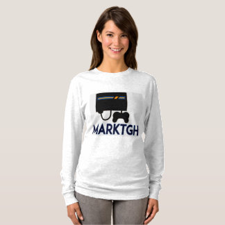 Die lange Hülse MarkTGH Frauen T-Shirt