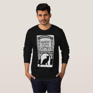 Die lange Hülse T der magischen T-Shirt