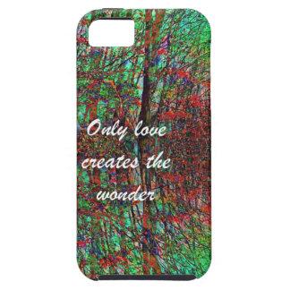 Die Liebe der Natur stellt eine wunderbare Welt Schutzhülle Fürs iPhone 5