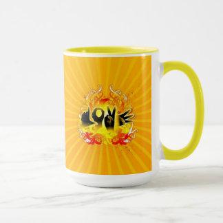 Die Liebe-Tasse Tasse