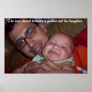 Die Liebe zwischen einem Vater und seiner Tochter Poster