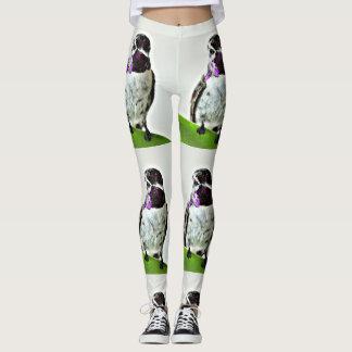 Die lila Gamaschen der Hummer-Frauen Leggings