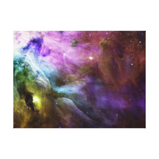Die lila NASA Wirbel Orions-Nebelflecks Leinwanddruck