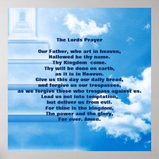 """Die Lords Prayer 24"""" x 24"""", Plakat-Papier (Matt)"""