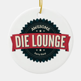 Die Lounge Keramik Ornament