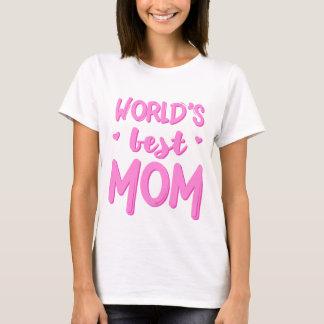 Die Mamma-der Mutter der Welt bester T - Shirt