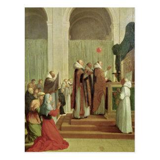 Die Masse von St Martin von Ausflügen, 1654 Postkarte