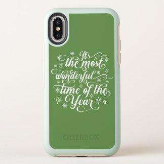 Die meiste wunderbare Zeit des Jahr | iPhone X OtterBox Symmetry iPhone X Hülle