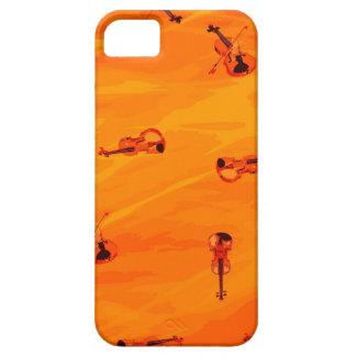 Die Melodie der Liebe: Violinen-Muster iPhone 5 Schutzhüllen