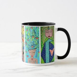 die mexikanische Kunst zerteilt Tasse