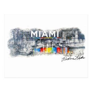 Die Miami-Linie, Rockne Krebs, Postkarte