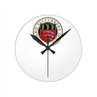 Die Middlesex-Krankenhaus-Uhr Runde Wanduhr