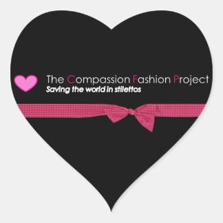 Die Mitleid-Mode-Projekt-Aufkleber Herz-Aufkleber