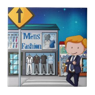Die Mode der Männer Fliese