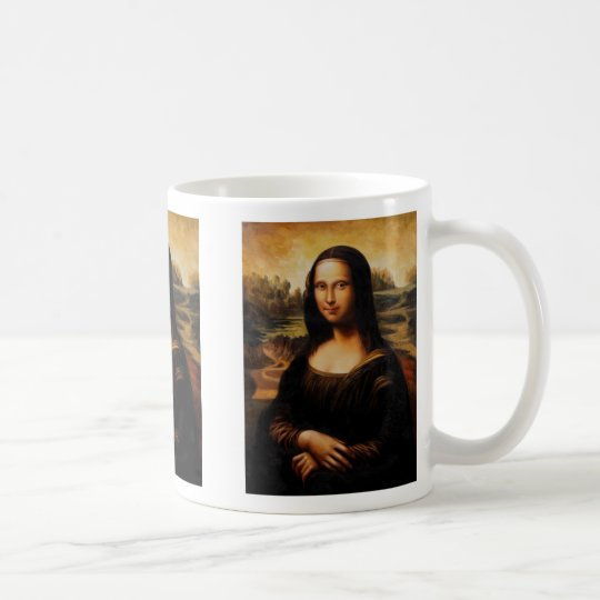 Die Mona Lisa durch Leonardo da Vinci Tasse