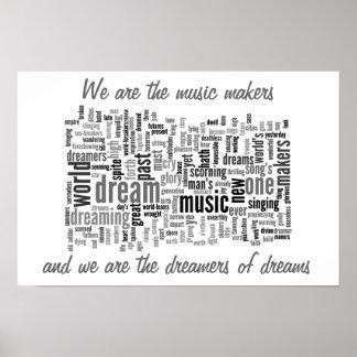 Die Musik-Hersteller Poster