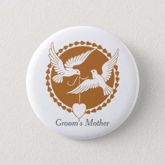 Die Mutter-Abzeichen des eleganten Runder Button 5,1 Cm