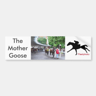 Die Mutter Gans bindet 2016 an Autoaufkleber