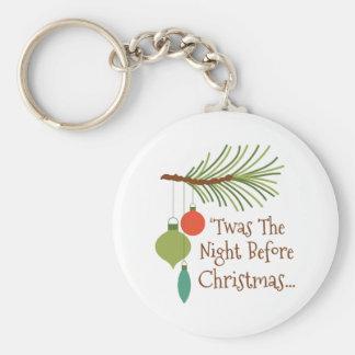 Die Nacht vor Weihnachten Schlüsselanhänger