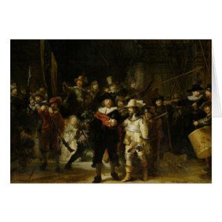 Die Nachtwache, Rembrandt Van Rijn Karte
