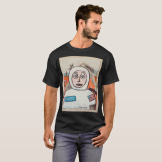 Die NASA-Astronauten-Cartoon T-Shirt