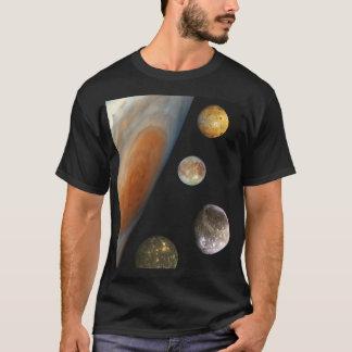 Die NASA/das Jupitersystem T-Shirt